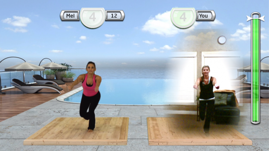 Get Fit With Mel B Game Action Photo
